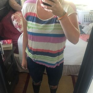 Splendid striped t shirt